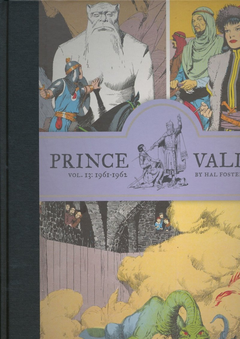 PRINCE VALIANT HC VOL 13 1961-1962