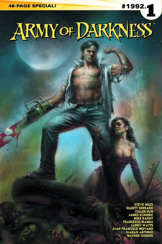 ARMY OF DARKNESS #1992.1 ONE SHOT CVR A PARRILLO MAIN