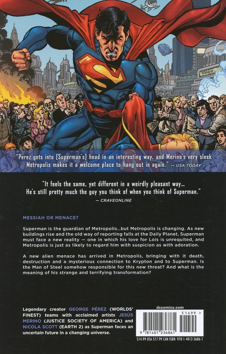 SUPERMAN VOL 01 WHAT PRICE TOMORROW SC (Oferta ekspozycyjna)