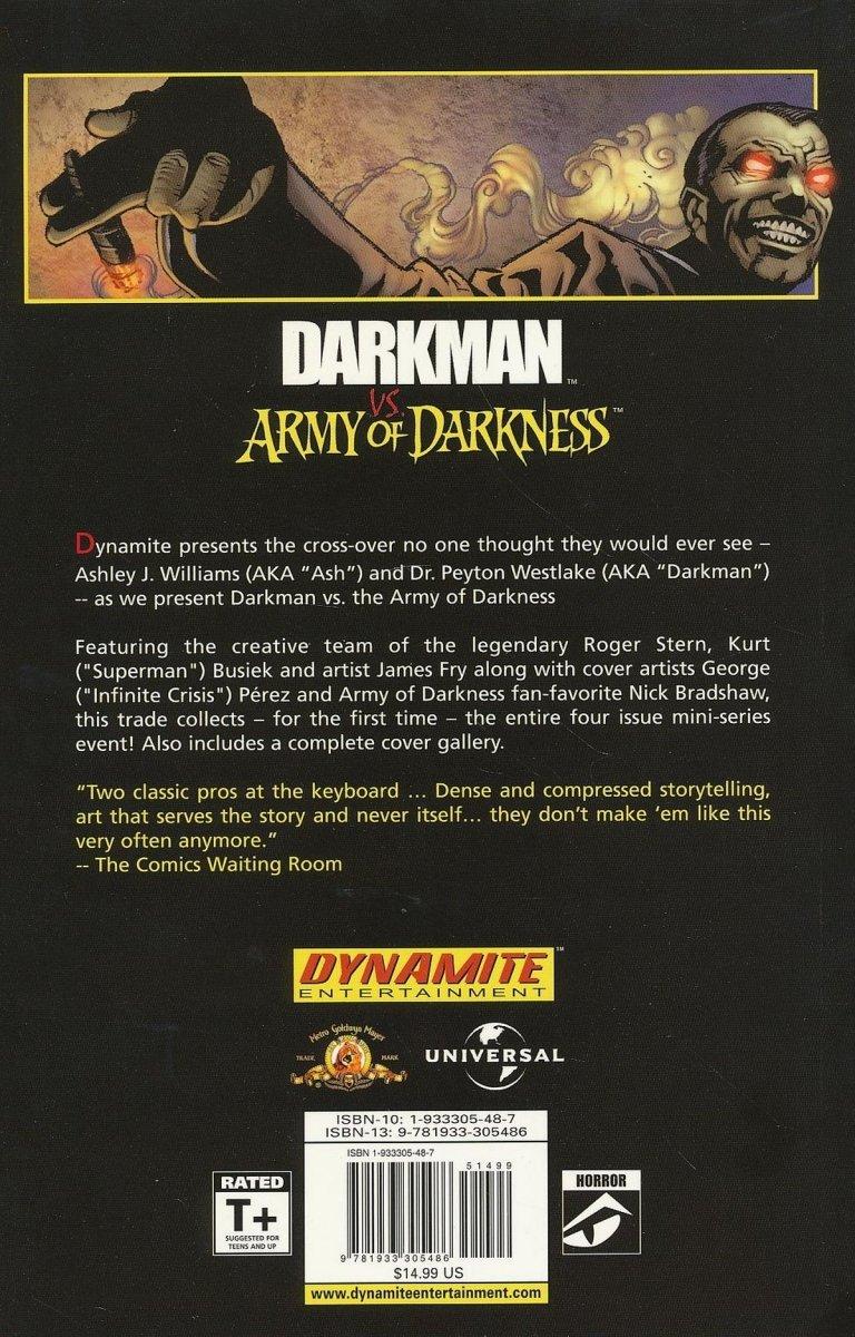 DARKMAN VS ARMY OF DARKNESS TP REG ED (Oferta ekspozycyjna)