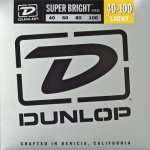 Struny do basu DUNLOP Super Bright (40-100)
