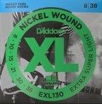 Struny D'ADDARIO XL Nickel Wound EXL130 (08-38)