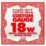 Pojedyncza struna z owjką ERNIE BALL Slinky 018w