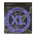 Struny D'ADDARIO Chromes Flat Wound ECG24 (11-50)
