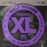 Struny D'ADDARIO Half Rounds EHR370 (11-49)