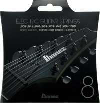 Struny IBANEZ IEGS81 (10-74) Nickel Wound