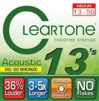 Struny CLEARTONE Acoustic EMP 80/20 Bronze (13-56)