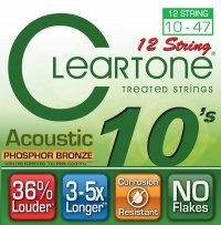Struny CLEARTONE Phosphor-Bronze (10-47) 12str