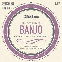 Struny do banjo 5str D'ADDARIO EJ57 (11-22)