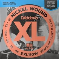 Struny D'ADDARIO XL Nickel Wound EXL110W (10-46)