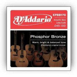 Struny D'ADDARIO Phosphor Bronze EPBB170 (45-100)
