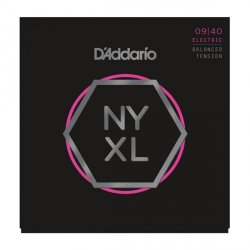 Struny D'ADDARIO NYXL Nickel Wound (09-40) BT