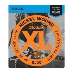 Struny D'ADDARIO XL Nickel Wound EJ20 (10-49)