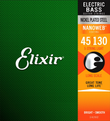 Struny do basu 5str ELIXIR Nickel Plated (45-130)