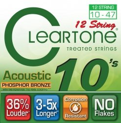 Struny CLEARTONE Phosphor-Bronze (10-47) 12str.