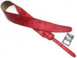 Pasek skórzany RALI Classic 06 47 (czerwony)