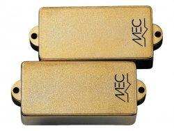 Aktywny przetwornik MEC M 60200 typu Precision® 4 struny, złoty