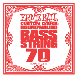 Struna do basu ERNIE BALL Slinky Nickel 070w