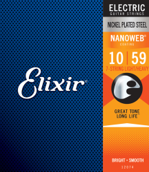 Struny ELIXIR NanoWeb Nickel Plated (10-59) 7str