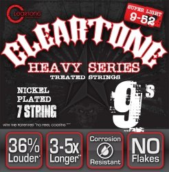 Struny CLEARTONE Monster Heavy (9-52) 7str.
