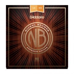 Struny D'ADDARIO Nickel Bronze NB1253 (12-56)