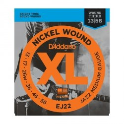 Struny D'ADDARIO XL Nickel Wound EJ22 (13-56)