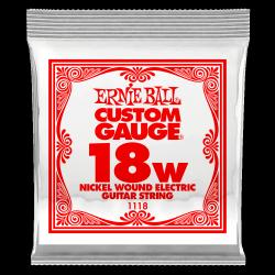 Pojedyncza struna ERNIE BALL Nickel Slinky 018w