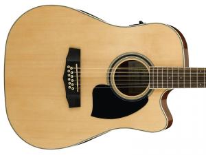 Gitara elektro-akustyczna 12st IBANEZ PF1512ECE-NT