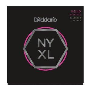 Struny D'ADDARIO NYXL Nickel Wound (09-40) BT