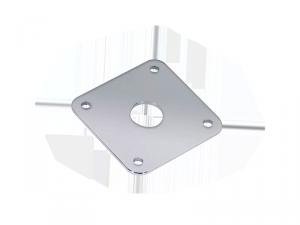 Płytka gniazda jack BOSTON JP-5 (CR)