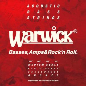 Struny do basu akustycznego WARWICK MS (45-105)