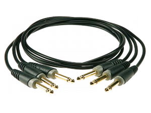 KLOTZ PP-JJ0090, złączka patch 90cm (3szt.)