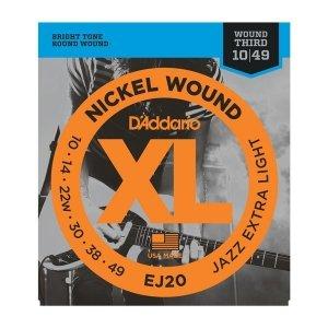 Struny D'ADDARIO XL Nickel Wound EJ20 (10-49)