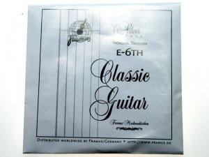Struna do gitary klasycznej FRAMUS E6 Norm.