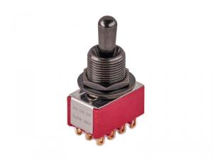 Przełącznik 4PDT on-on-on maxi MEC 80019 (BK)