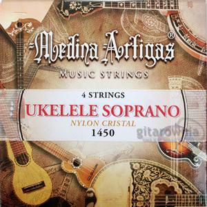 Struny do ukulele MEDINA ARTIGAS 1450 Clear Nylon