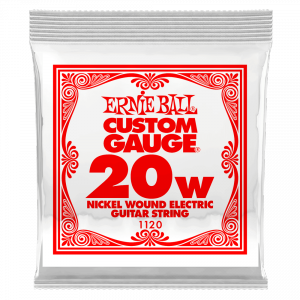Pojedyncza struna ERNIE BALL Nickel Slinky 020w
