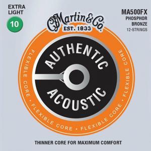 Struny do akustyka 12str. MARTIN MA500FX (10-54)