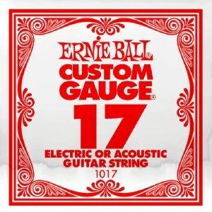 Pojedyncza struna bez owijki ERNIE BALL Slinky 017