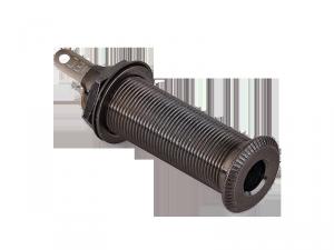 Cylindryczne gniazdo jack stereo MEC 50100 (BK)