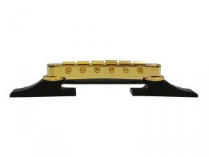 Mostek do gitar hollow-body HOSCO/GOTOH F-2821