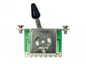 Przełącznik ślizgowy 3-pozycyjny ALPHA (BK)