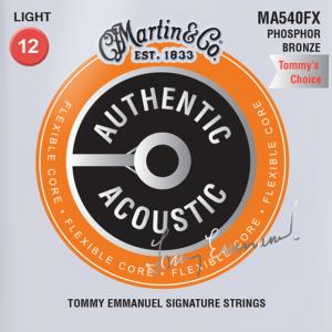 Struny do akustyka MARTIN Auth. MA540FX (12-54)