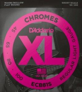Struny D'ADDARIO Chromes ECB81S (45-100)