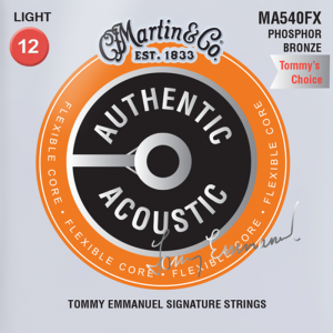 Struny do akustyka MARTIN Auth. MA535FX (11-52)
