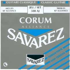 Struny do klasyka SAVAREZ Corrum i Alliance 500 AJ