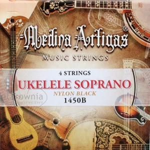 Struny do ukulele MEDINA ARTIGAS 1450B Black Nylon
