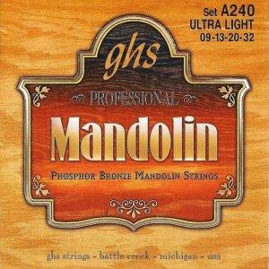 Struny do mandoliny GHS A 240 Ultra LT (9-32)