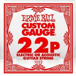 Pojedyncza struna bez owijki ERNIE BALL Slinky 022