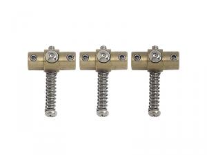 Komplet siodełek GOTOH SW3 (mosiądz)